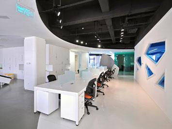 制造加工行业办公空间及家具设计